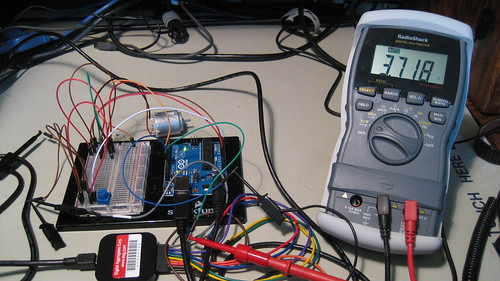 Digital Voltmeter: Programmed 80% PWM Duty Cycle