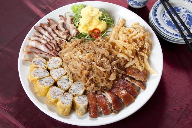 Five Happiness Combination Platter