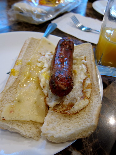 sausage breakfast style