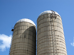 storage tank, water tower, silo, tower,
