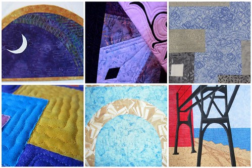 Creations from the Project QUILTING - Architectural Elements Challenge