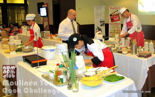 Batch 1 Moulinex You Cook Challenge Participatns