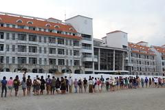 2011年7月上千人在美麗灣前沙灘反對,誓言保護東海岸