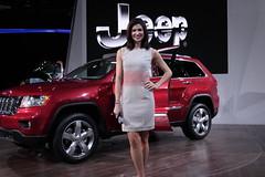 Jeep Grand Cherokee - Model Alison Fiori