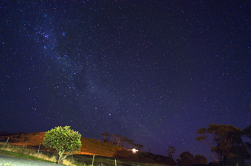 starry night in Tasmania