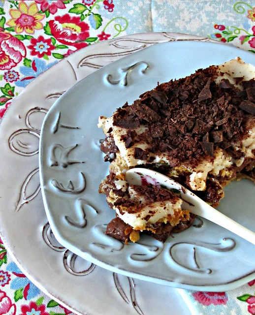 Trifle di Panettone all'Amarena con Crema di Cacao e Cocco e Salsa Vanigliata alla Fava Tonka (2)