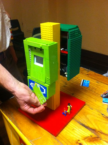 Lego Myki and Metcard readers