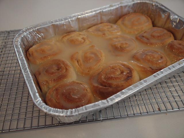 mmmm warm cinnamonn rolls