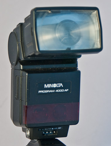 Minolta 4000AF flash unit