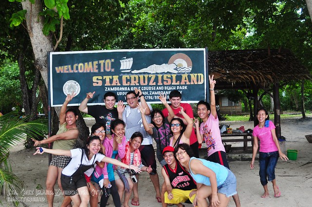 Family Picture at Sta. Cruz Island