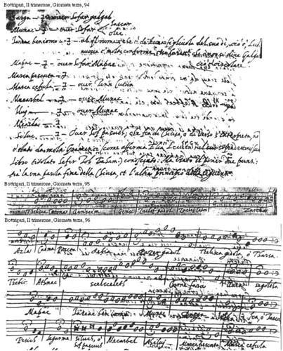 Il Canto degli Hebrej in E. Bottrigari, Trimerone (1599)