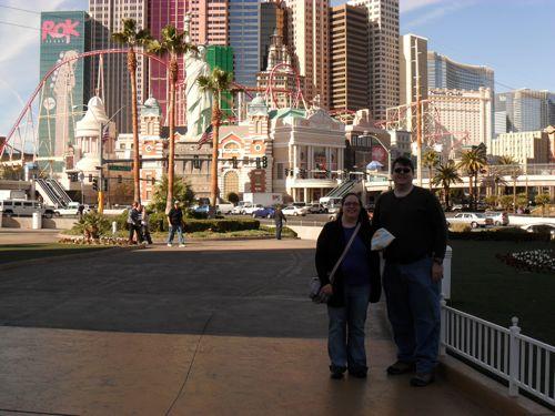 Darren & I in Vegas