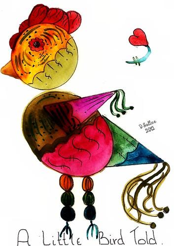 2012 - Valentine Bird 3 by BeverlyDiane