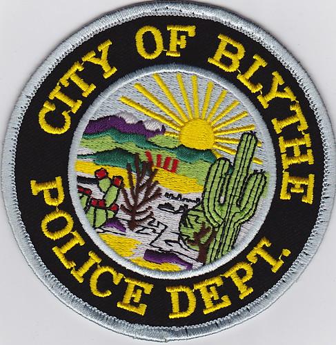 California City Law Enforcement Patches