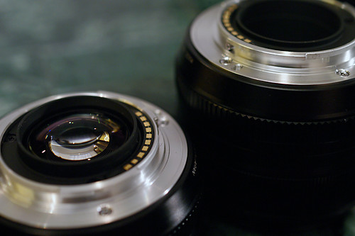 FUJIFILM X-Pro1 lens