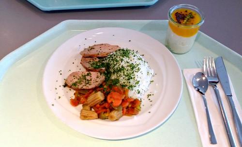 Filetstück mit Wokgemüse