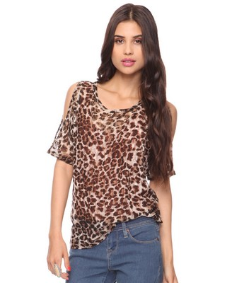 Leopard Print Top