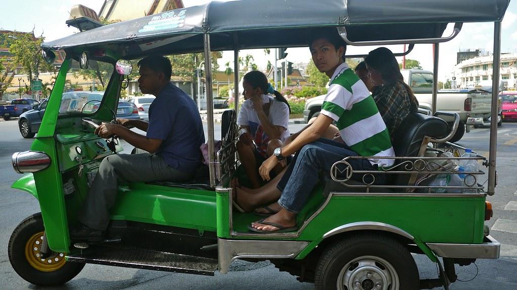 Green Tuk Tuk