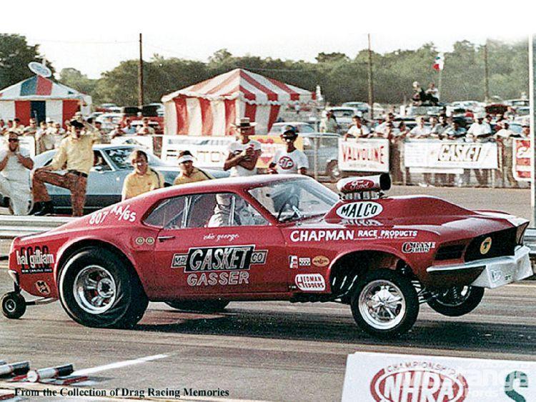 The Amazo Effect: Drag Racing History - Mr  Gasket Mustang