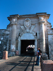 Cabaña fortress main gate | Entrada principal a La Canaña, La Habana, Cuba