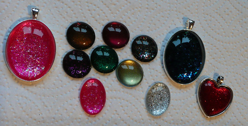 nail varnish jewellery