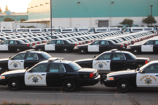 Future Ford Sacramento >> Metaphor Alert: Sun Sets Over the California Highway Patrol's Fleet of Ford Crown Victorias ...