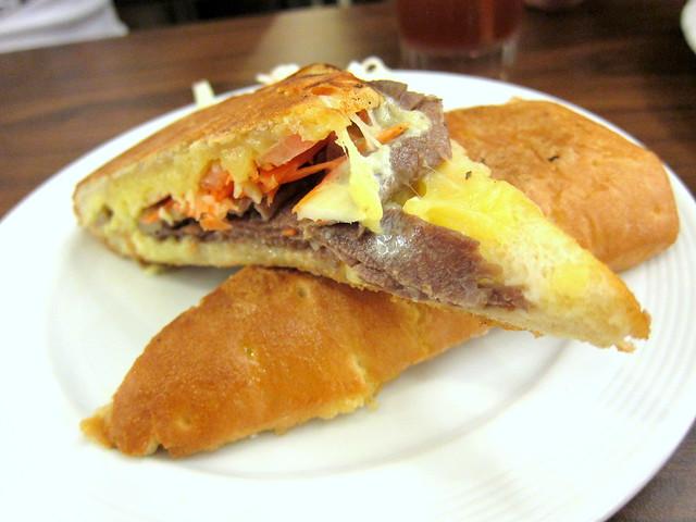 Dave's Roast Beef Panini Sandwich