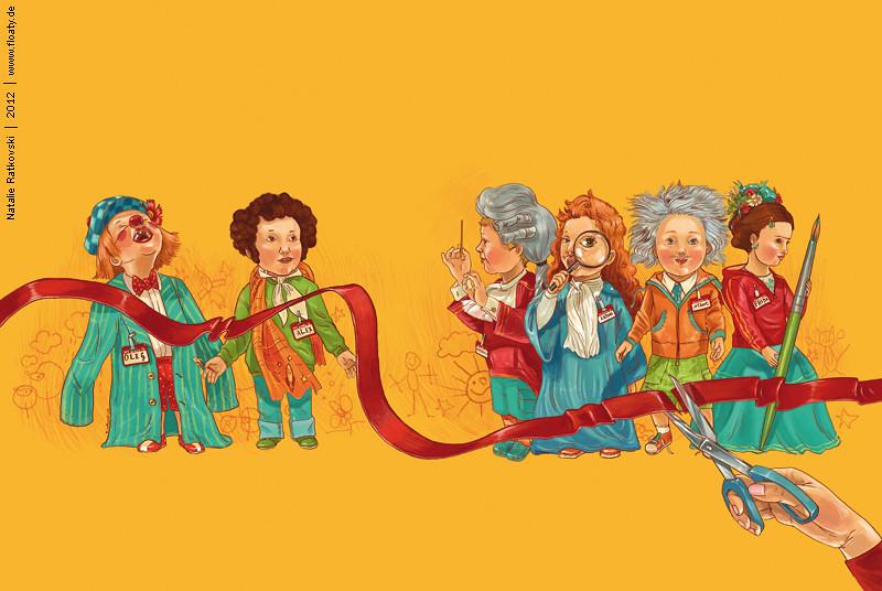Child club, cover illustration