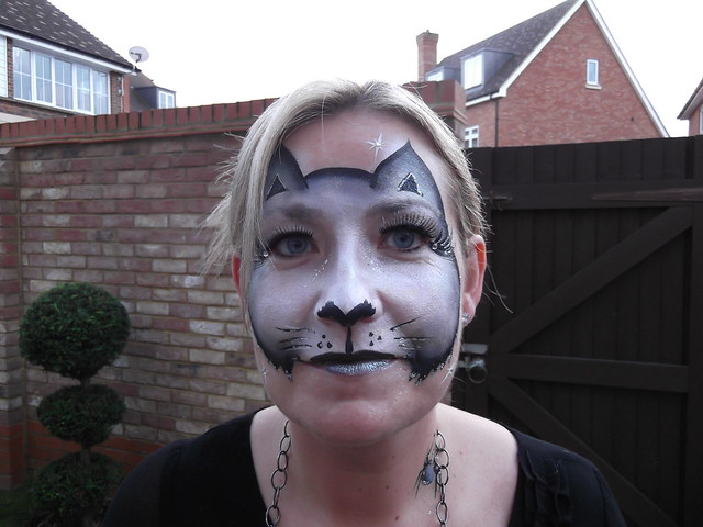 Halloween Cat Face Painting Photos http://www.flickr.com/photos/pampered-delights/6791147047/