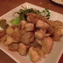 宮崎地鶏のゆず胡椒炒め