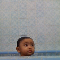 So tell me, how do you get your baby out of the tub???
