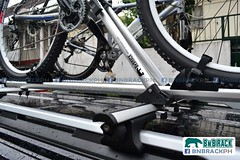 BNB Crossbar Alloy - Roof Rail Mounted Crossbar | If images does not appear please visit facebook.com/bnbrackph