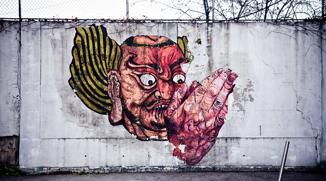 Red Graffiti [EOS 5DMK2 | EF 24-105L@47mm | 1/100s | f/5.6 |  ISO200]