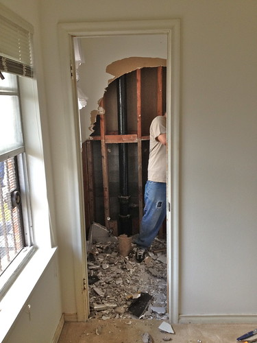 Demolition At Our Flip Begins
