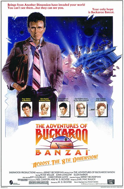 Adventures of Buckaroo Banzai Theatrical release poster