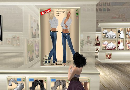 LC Fashion - MESH Desiree  Jeans & Sweater, 1 linden by Cherokeeh Asteria