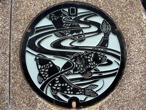 Ojiya Nigata manhole cover (新潟県小千谷市のマンホール)