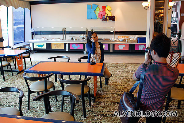 Kids dining area