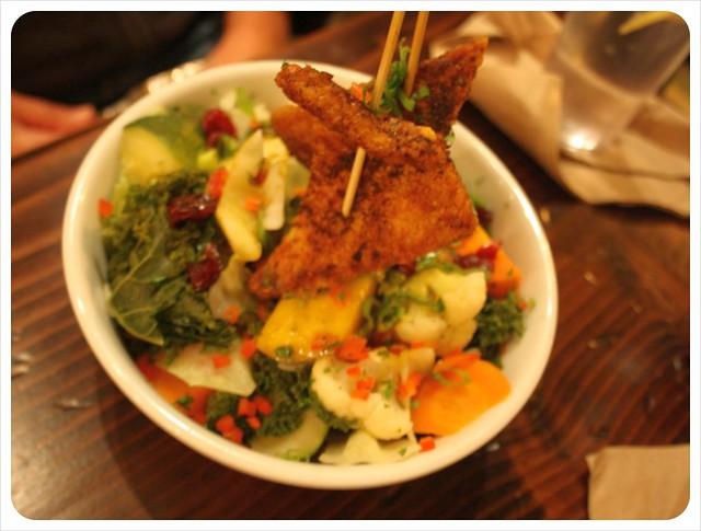 native foods cafe vegan dish