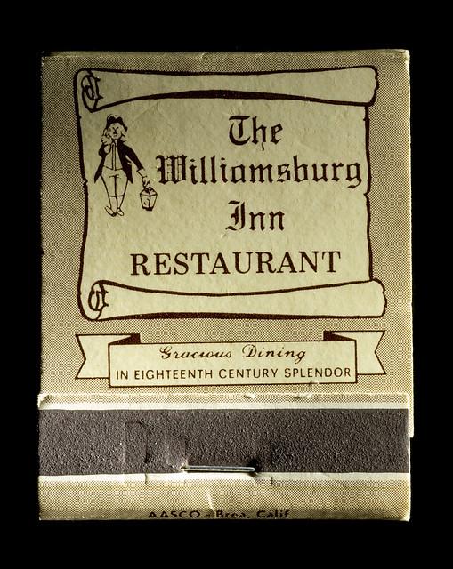 Williamsburg Inn Dining Room