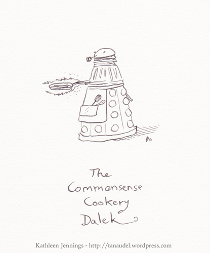 The Commonsense Cookery Dalek