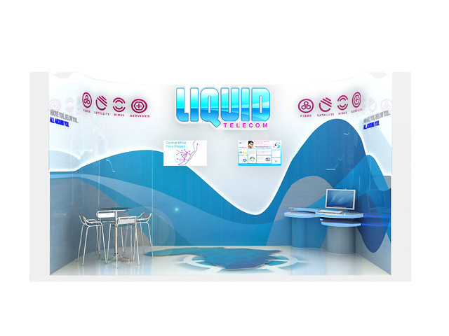 Exhibition Stand Hire Cape Town : Liquid telecom exhibition stand front view flickr