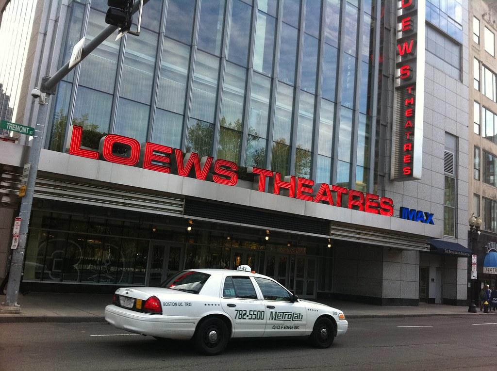 AMC theater. Boston amc theater