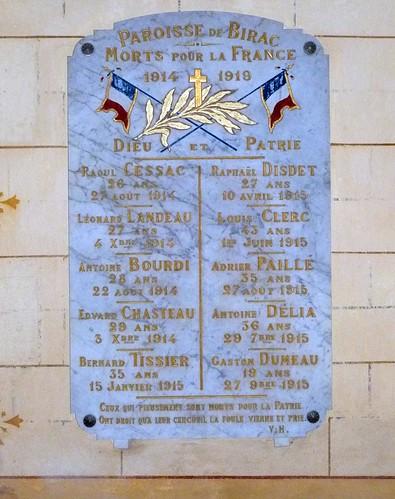 Birac-sur-Trec - L'Eglise Saint Georges 04