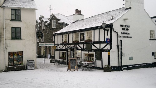 Hawkshead in the snow