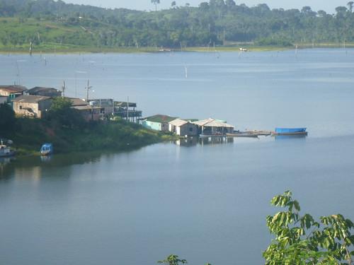 Vista do Porto Novo.