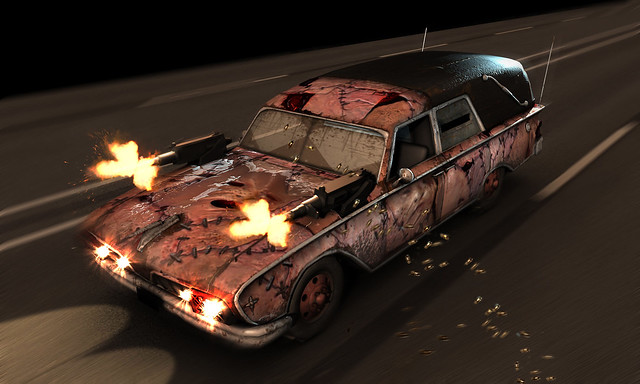 Twisted Metal NOS skin