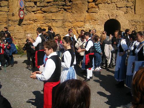 Foto de un groupe folklorique de la Sicile by Calogero Mira