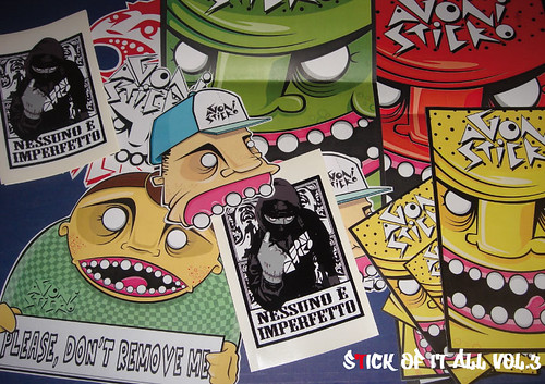 AGONISTICKO by Vidalooka - STICK OF IT ALL VOL.3 -