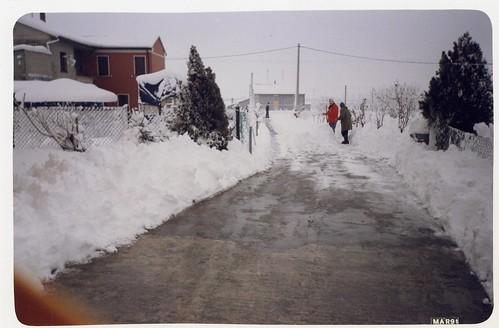 Nevicata 1991 by meteomike